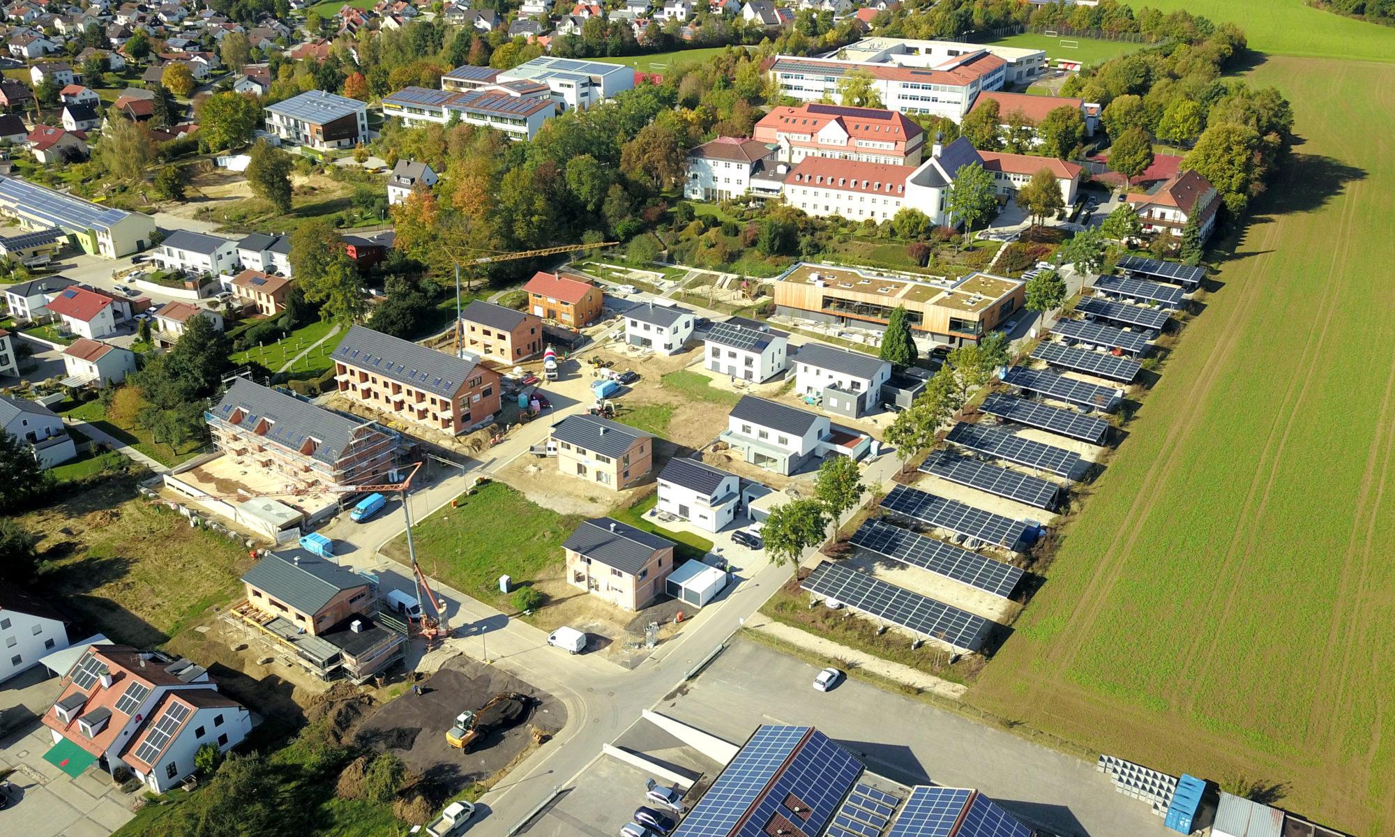 Luftbild Klosterhügel